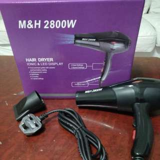 M&H 2800W Salon Hair Dryer