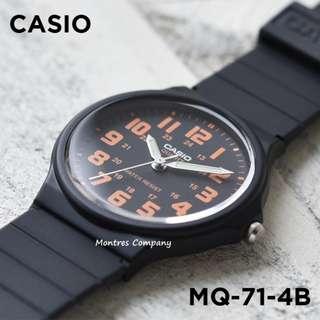 Montres Company香港註冊公司(25年老店) CASIO standard MQ-71 MQ-71-4 MQ-71-4B 三隻色都有現貨 MQ71 MQ714 MQ714B