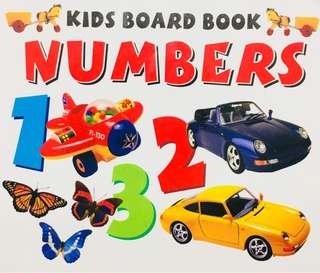 Educational Early Learning Numbers Board Book