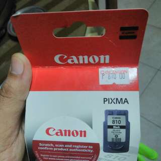 Brand new ink Canon 810 black
