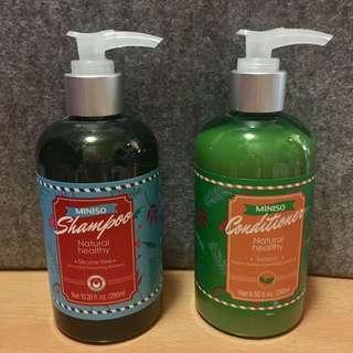 洗頭水&護髮素