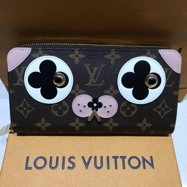 2018年早春Louis Vuitton小狗限量版拉鏈長夾