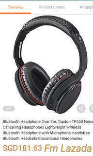TOPDON WIRELESS NOISE CANCELING HEADPHONE