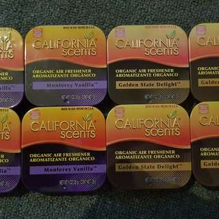 California Scents Car Freshener Air freshener
