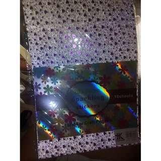 sparkling sticker