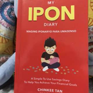 Ipon book by Chinkee Tan