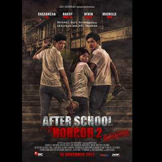 [Rent-A-Movie] AFTER SCHOOL HORROR 2 (2017) [INDONESIAN]