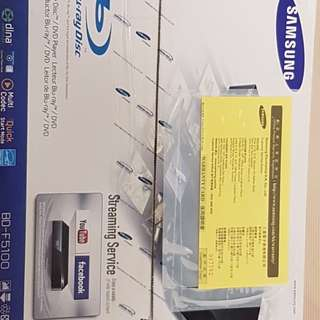 Samsung blue ray DVD player