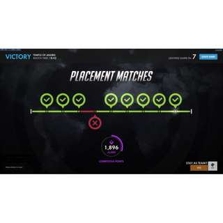 Overwatch Boost (EZ Placements)