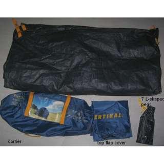 Bodypac tent 4 man 1 Door 1 Window . 210x210x110cm . NO STRUCTURE RODS