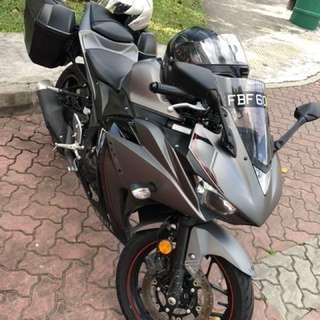 Yamaha R3 18Aug16 QP $6,352