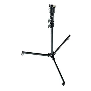[USED] Manfrotto 298B 3-section Black Lightstand with Dolly