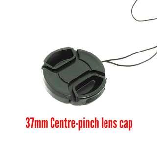 37mm Centre-pinch Lens Cap - Free Posting