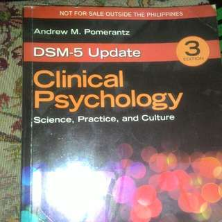 Clinical Psychology by Pomerantz