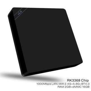 4K Android Home Entertainment TV Box - 八核4K智能網絡機頂盒 S2402