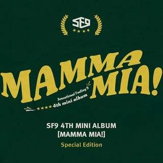 [PREORDER] SF9 - Mamma Mia Special Edition