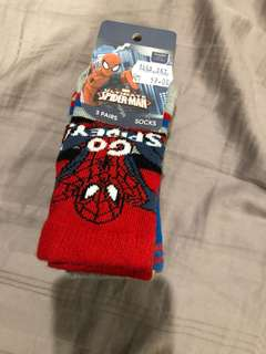 Mothercare Spider-Man socks