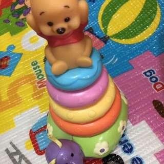 層層疊玩具 Winnie the Pooh 維尼熊