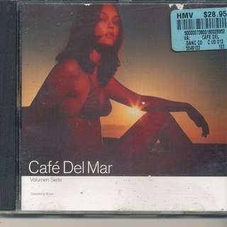 Cafe Del Mar Volumen Siete: Compiled By Bruno By Various Artists (AUDIO CD) [y3]