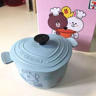 7-11 Choco心形鍋
