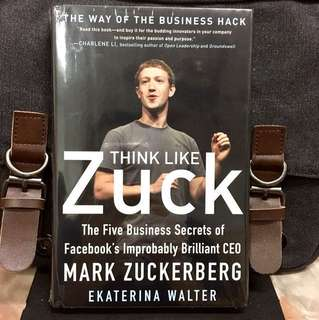 # Highly Recommended《Bran-New + Hardcover Edition + Make Your Mark In Social Media World With Facebook 5 Success Principles》 Ekaterina Walter - Think Like Zuck: The Five Business Secrets of Facebook's Improbably Brilliant CEO Mark Zuckerberg