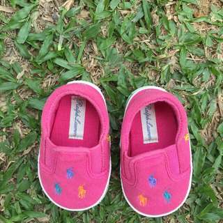 Ralph Lauren Original Baby Shoes