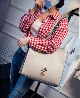 Mickey Mouse Casual Grey Bag