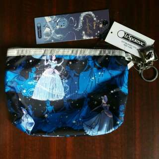 Lesportsac costmetic pouch (Cinderella & Charming)