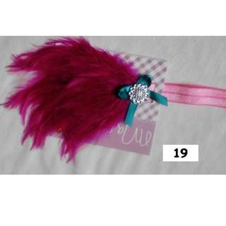 Brand New Feather Headband for Baby and Girls