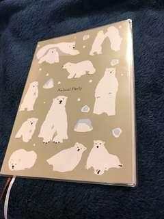 A5北極熊單行簿