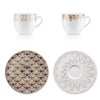 Coffee Set Art Deco 1st Design Pattern