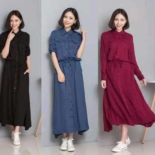 Long dress ( f&a)