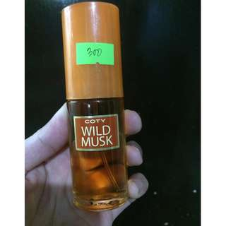 Repriced COTY WILD MUSK 30ml