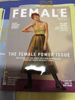 Female March 2018 issue