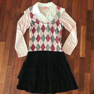 Kids High-School-Style Dress