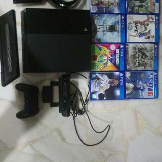 Selling my PS4 console + accessories + games a
