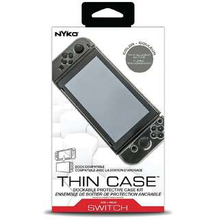 Nyko Thin Case for Nintendo Switch (Smoke Grey) - Nintendo Switch