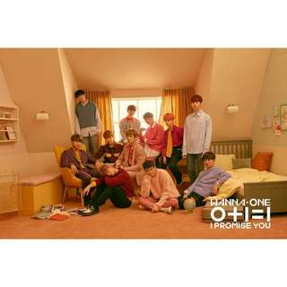 (PRE ORDER) WANNA ONE 2ND MINI ALBUM - I PROMISE YOU (OPEN FOR 6 MORE SLOT!!)