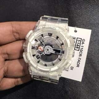 2018 Model Brand New Casio Transparent Gshock GA110 Unique Watch Unisex FREE DELIVERY G-Shock
