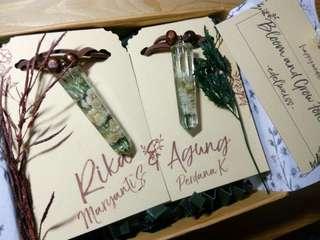 Gift wedding, Gelang couple, gelang edelweiss