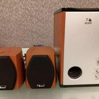 speaker - 3 pieces