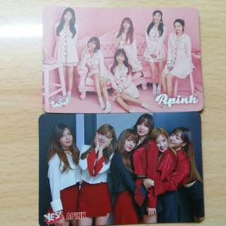 Apink Yes 卡