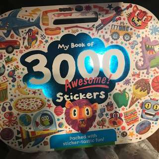 3000 awesome of stickers