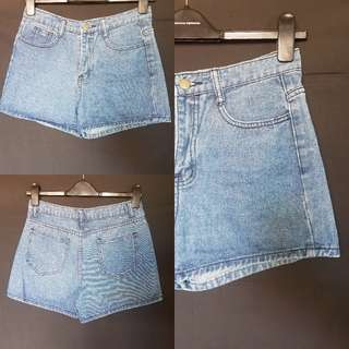 Semi Highwaist Shorts