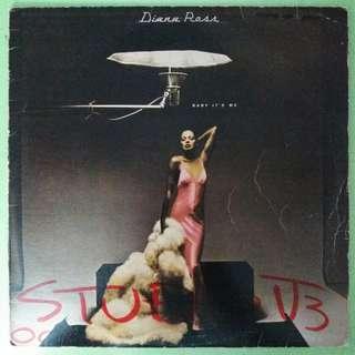 """【舊版""""Funk / Soul""""黑膠唱片】Diana Ross ~ Baby It's Me (1977 US)"""