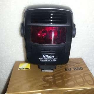 Nikon SU800 Flash Commander
