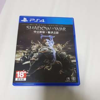 Shadow of War - PS4
