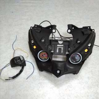 Eagle eye Yamaha LC135 + 3 step suis