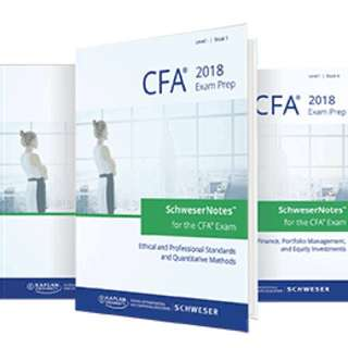 Schweser June 2018 CFA Level 1 notes (ebook)