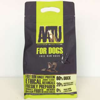 AATU Free Run Duck Adult Dry Dog Food